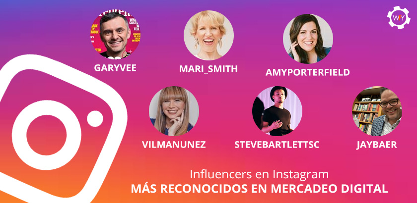 Influencers de Mercadeo Digital en Instagram más Reconocidos