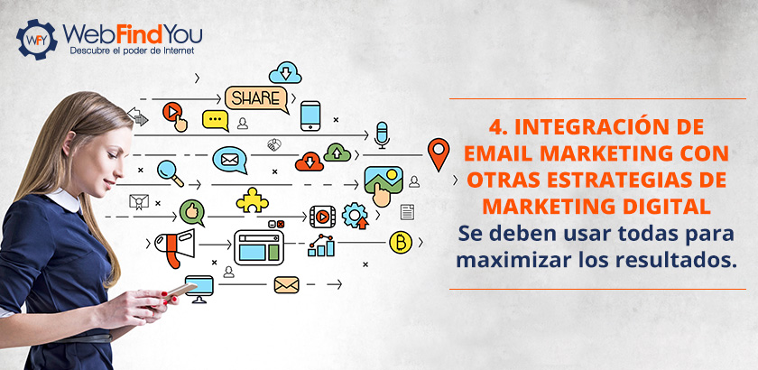 Integración de Email Marketing con Otras Estrategias de Marketing Digital