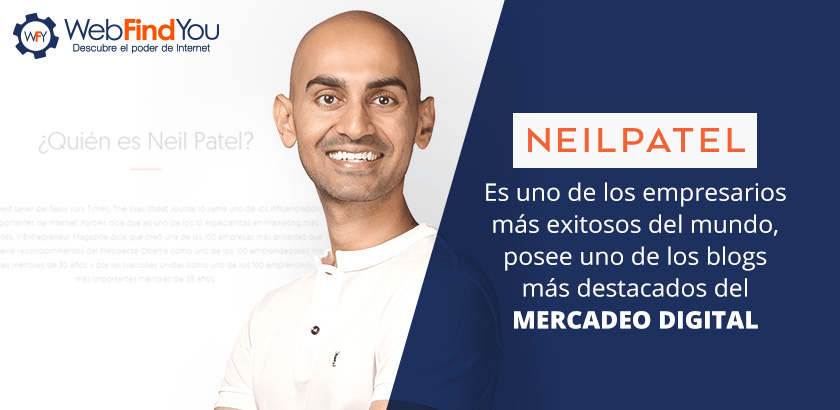 Neil Patel, Posee uno de los Blogs Más Destacados de Mercadeo Digital