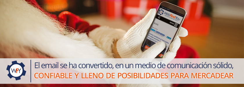 Consigue clientes con email marketing