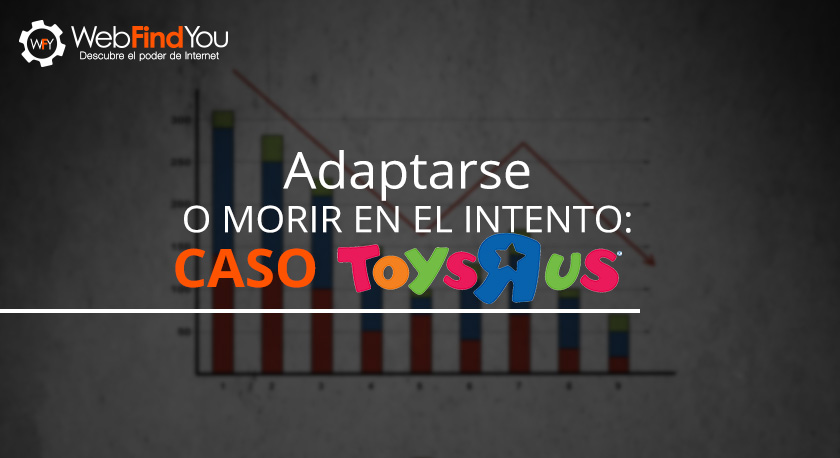 Adaptarse al Mercadeo Digital o Morir en el Intento: Toys R' Us