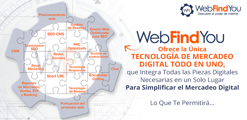 WebFindYou Simplifica el Mercadeo Digital